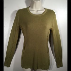🆕 BANANA REPUBLIC FACTORY GREEN CREWNECK SWEATER